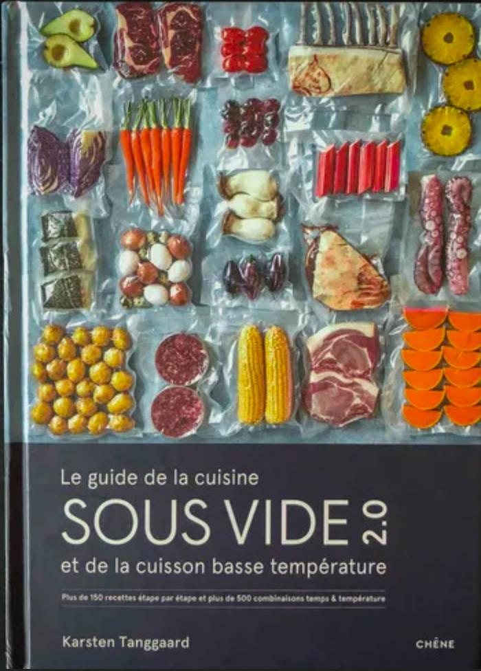 Livre cuisine sous vide de Karsten Tanggaard SOUS VIDE 2.0