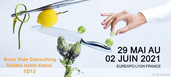 Sous Vide Consulting - Stand 5D12 Sirha 2021