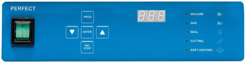 Sous videuse alimentaire pro de table  Komet Panneau de controle perfect avec sensor