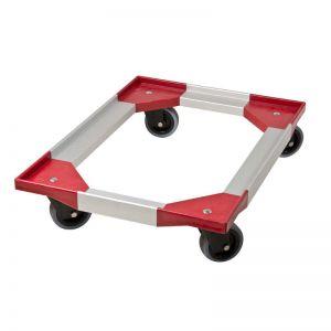 Chariot pour conteneur à chargement frontal plaques et plateaux 60x40 FRONTLOADER THERMO FUTUR BOX