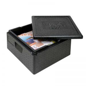 Thermobox pour transport livraison de boite à pizza ou gâteaux ou tartes: taille intérieure 350 x 350 mm